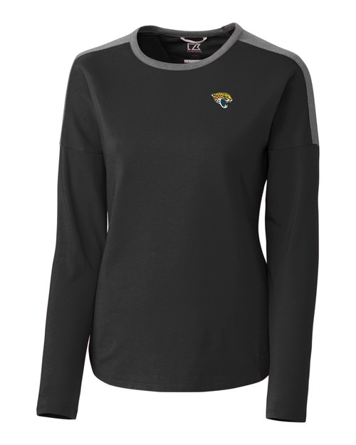 Jacksonville Jaguars Ladies' Cheer Colorblock Tee 1