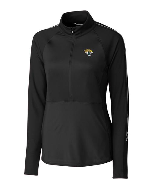 Jacksonville Jaguars Ladies' Pennant Sport Half-Zip