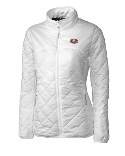50365cfa 10760 LCO09999-17049 San Francisco 49ers Ladies' Sandpoint Quilted Jacket
