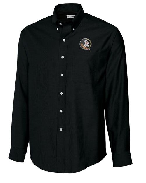 c889a3e61 FSU Seminoles Men's Ridge Half Zip. $120.00. 4334 BCW09316-109033 FSU  Seminoles B&T L/S Epic Easy Care Royal Oxford Shirt
