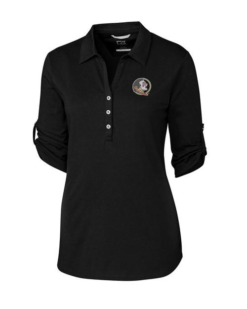 5b5212310 6986 LCK00004-109033 FSU Seminoles Women's E/S Thrive Polo