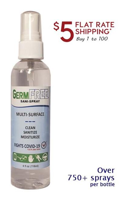 """GermFREE """"Sani-Spray"""""""