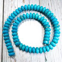 Sleeping Beauty Turquoise- 10mm Rondells SBR10j1