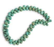 Sonoran Green Turquoise Peanut Shape - CTP1a
