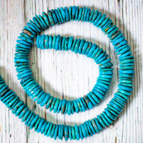 Campitos Turquoise Disc - 10-11mm CTD4a