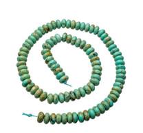 Baja Turquoise(Mexico) 8mm Rondell