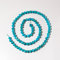 4mm Sonoran Turquoise Cubes