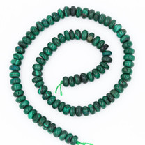 Malachite(Congo) 8mm Rondell