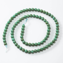Sonoran Green (Turquoise)Mexico 4mm Rounds