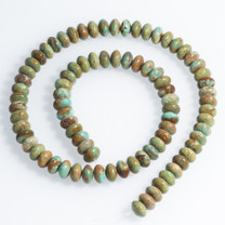 Sonoran Green (Turquoise)Mexico 8mm Rondells SG8c