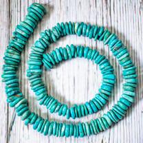 Campitos Turquoise Disc 8-10mm Irregular CTD5