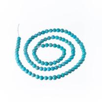 Nacozari Turquoise 4mm Rounds(Mexico)