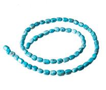 Nacozari Turquoise Nuggets 4x6mm