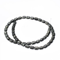 Spider Web Jasper (Arizona) 6x8mm Barrel Beads
