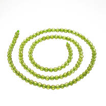 Arizona Peridot  3mm Faceted Rounds