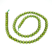 Peridot(San Carlos,Arizona) 5mm Round Beads