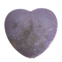 Lepidolite Heart (New Mexico) LH