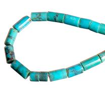 Turquoise Tubes(Hubei,China) 4x5mm  YB5