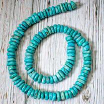 Campitos Turquoise Disc 8-10mm CTD3p