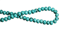 Turquoise Rondells(Hubei-China)