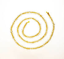Golden Labradorite (Bytownite) 4mm Rondells