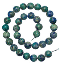 Bluebird Azurite-Malachite- 12mm Rounds