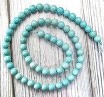 Campitos Turquoise(Mexico) 6mm Round CTR6f