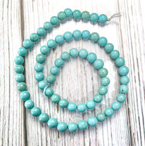 Campitos Turquoise(Mexico) 6mm Round CTR6g