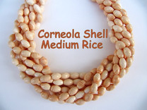 Corneola Shell Medium Rice(Italy) 9x6mm CSM9