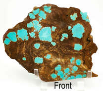 #8 Mine Turquoise Slab (Stabilized) 8S14