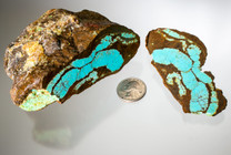 #8 Mine Turquoise Rough(Stabilized) 8R1a