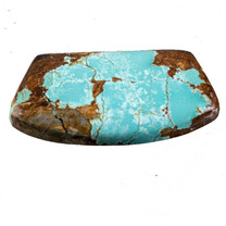 #8 Mine Turquoise Cabochon 35x29x22x8mm(Stabilized) 8SC12