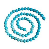 Sleeping Beauty Turquoise 6mm Rounds SBR6b1b