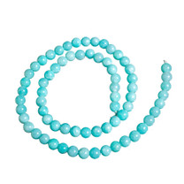 Amazonite(Peru) 6mm Rounds AM6b