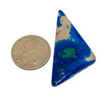 Azurite-Malachite(Jerome,Az) 53x29x5mm 39 cts AZJ12