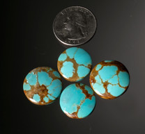 #8 Mine Turquoise Cabochon Set(Stabilized) 8SCS2