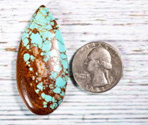 #8 Mine Turquoise Cabochon (Stabilized) 8C1b