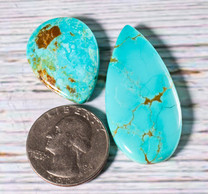 #8 Mine Turquoise Cabochon Set(Stabilized) 8S1f