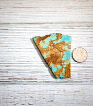 #8 Mine Turquoise Slab (Stabilized) 8S15a