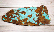 #8 Mine Turquoise Slab (Stabilized) 8S15b