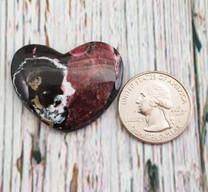 Eudialyte Heart (Canada) 30x37x5mm EH2
