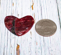 Eudialyte Heart (Canada) 28x34x5mm EH4