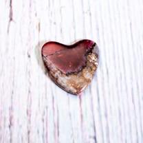 Eudialyte Heart (Canada) 22x21x3mm EH6