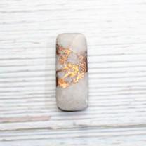 Quartz, Native Copper - Chrysocolla (Ray Mine-Hayden-Arizona)35x15x5mm RMC1