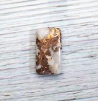 Quartz, Native Copper - Chrysocolla (Ray Mine-Hayden-Arizona) 27x15x5mm RMC5