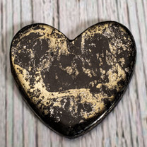Apache Gold Heart(Jerome, Arizona) 43x43x4mm APH1b
