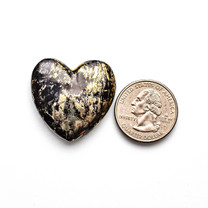 Apache Gold Heart(Jerome, Arizona) 32x30x4mm APH2c