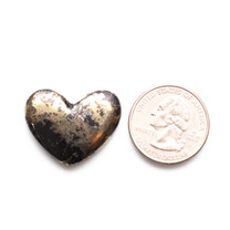 Apache Gold Heart(Jerome, Arizona) 29x23x4mm APH3c
