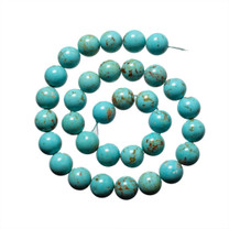 Sonoran Blue Turquoise(Mexico) 12mm -NTR12d1
