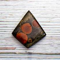 Peanut Rock(Obsidian )(Mexico)30x30x25x25x5mm RE58f2